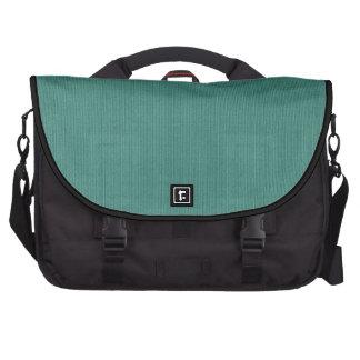 Bolso verde del ordenador portátil del viajero de  bolsas para ordenador