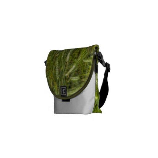 Bolso verde del viaje del mensajero del campo de l bolsas messenger