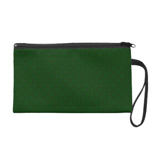 Bolso verde oscuro clásico de Bagettes