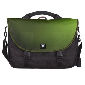 Bolso verde oscuro del ordenador portátil bolsas de ordenador