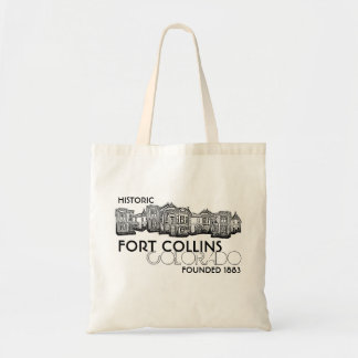 Bolso viejo histórico de la ciudad de Fort Collins Bolsas