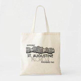 Bolso viejo histórico de la ciudad de St Augustine Bolsa Tela Barata