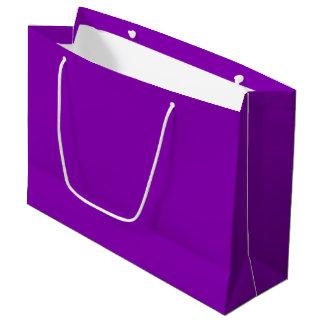 Bolso violeta del regalo - grande, brillante bolsa de regalo grande