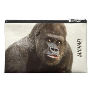 Bolsos accesorios de encargo del gorila divertido