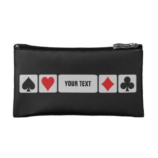 Bolsos accesorios de encargo del jugador de tarjet