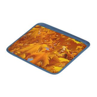 Bolsos anaranjados de las cajas de las mangas de M Funda Macbook Air