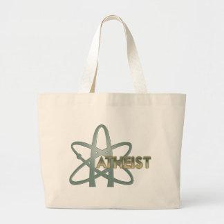Bolsos ateos (del símbolo ateo americano) bolsa de mano