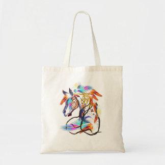 Bolsos brillantes del caballo bolsa