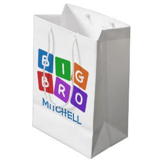 Bolsos conocidos de encargo grandes del regalo de bolsa de regalo mediana