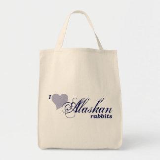 Bolsos de Alaska de los conejos Bolsas