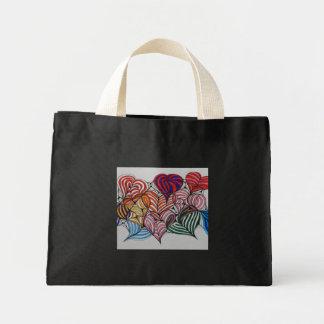 bolsos de corazones bolsa de mano