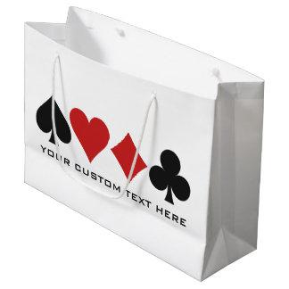 Bolsos de encargo del regalo del jugador de bolsa de regalo grande