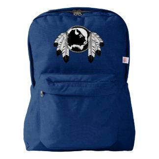 Bolsos de escuela tribales de la fauna de la mochila