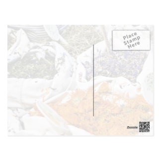 Bolsos de hierbas tarjeta postal
