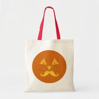 Bolsos de la calabaza del bigote de Halloween