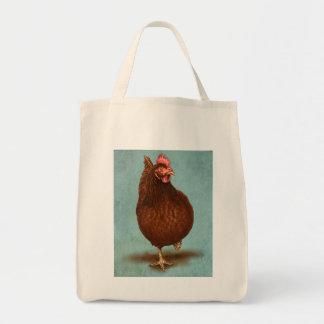 Bolsos de la gallina del rojo de Rhode Island Bolsas