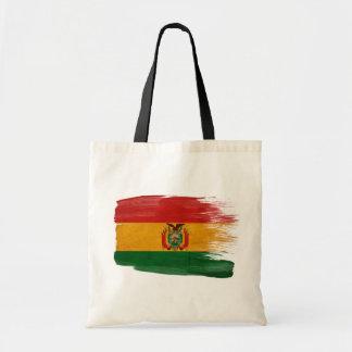 Bolsos de la lona de la bandera de Bolivia Bolsa Tela Barata
