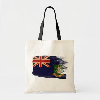 Bolsos de la lona de la bandera de British Virgin  Bolsa Tela Barata