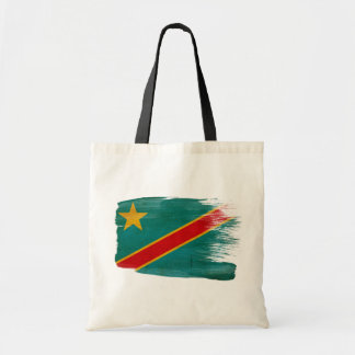 Bolsos de la lona de la bandera de Congo Bolsa Tela Barata