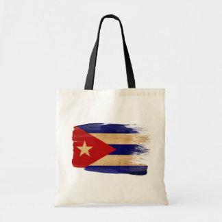 Bolsos de la lona de la bandera de Cuba Bolsa Tela Barata