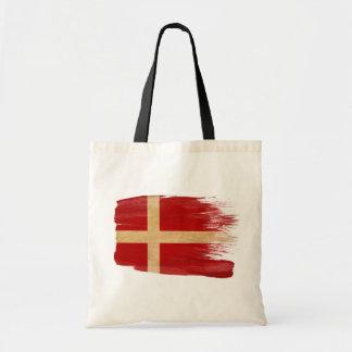 Bolsos de la lona de la bandera de Dinamarca Bolsas Lienzo