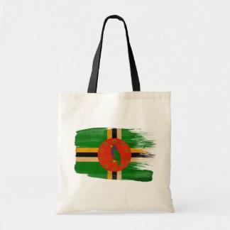 Bolsos de la lona de la bandera de Dominica Bolsas