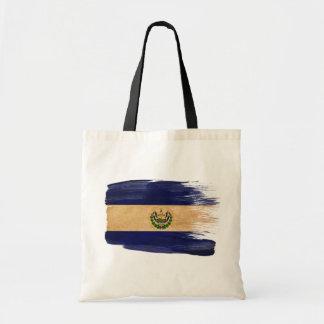 Bolsos de la lona de la bandera de El Salvador Bolsas
