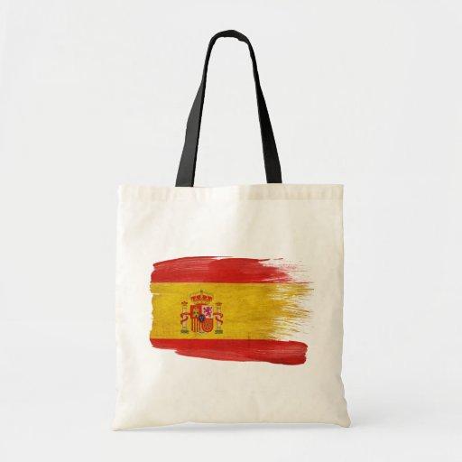Bolsos de la lona de la bandera de España Bolsa Tela Barata