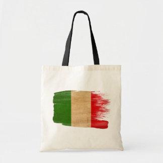Bolsos de la lona de la bandera de Italia Bolsa Tela Barata