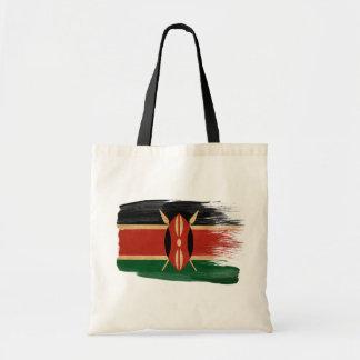 Bolsos de la lona de la bandera de Kenia Bolsas
