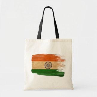 Bolsos de la lona de la bandera de la India Bolsa Lienzo