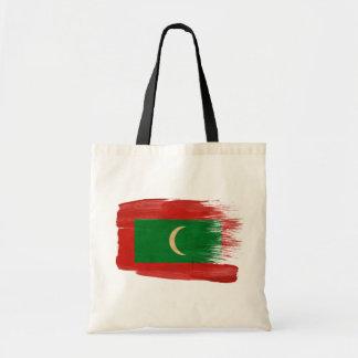 Bolsos de la lona de la bandera de Maldivas Bolsas De Mano