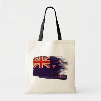 Bolsos de la lona de la bandera de Nueva Zelanda Bolsa Tela Barata