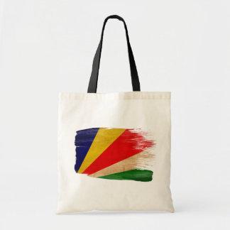 Bolsos de la lona de la bandera de Seychelles Bolsas