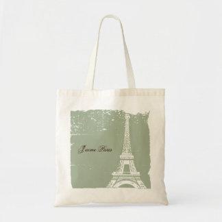 Bolsos de la lona de la torre Eiffel Bolsas
