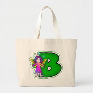 Bolsos de la lona - FairyLetter B Bolsa Tela Grande