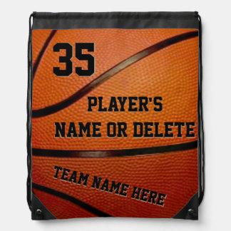 Bolsos de la mochila del lazo del baloncesto, 3