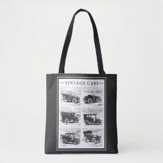 Bolsos de los coches del vintage bolsa de tela