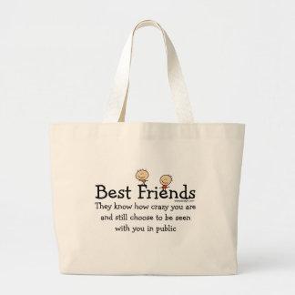 Bolsos de los mejores amigos bolsa