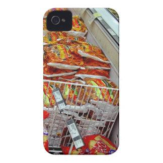 Bolsos de microprocesadores en gabinete del iPhone 4 cárcasa