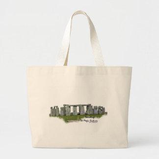 Bolsos de Stonehenge Customizeable Bolsa Tela Grande
