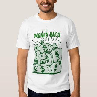 Bolsos del dinero remeras
