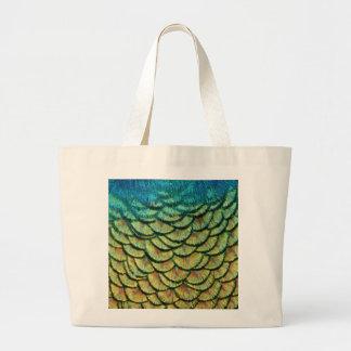 Bolsos del diseño de la pluma del pavo real bolsa de mano