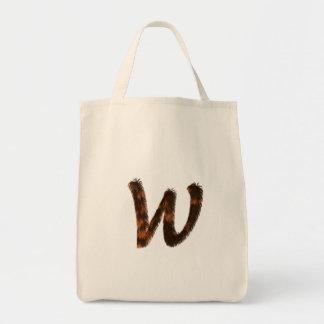 Bolsos del monograma de la piel del calicó bolsa tela para la compra