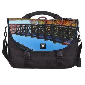 Bolsos del ordenador portátil del lago autumn bolsas de ordenador