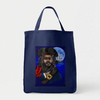 Bolsos del pirata y de la nave bolsa tela para la compra