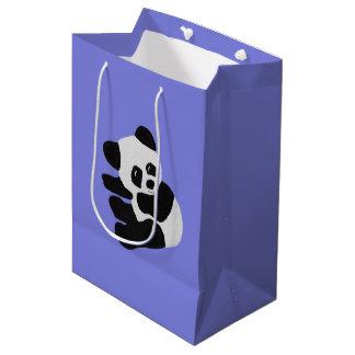 Bolsos del regalo del oso de panda bolsa de regalo mediana