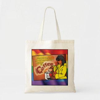Bolsos gay - café de la mañana bolsa tela barata