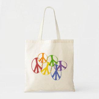 Bolsos gay de la paz bolsas de mano