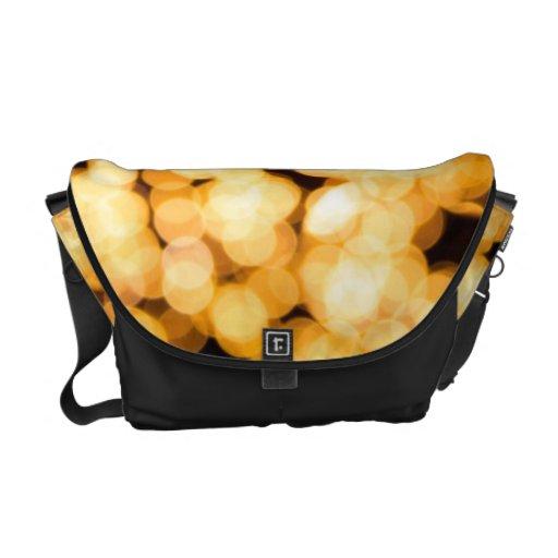 Bolsos ligeros brillantes bolsas de mensajería